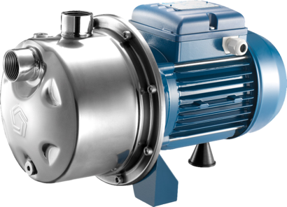 Centrifugal pump INOX 100 - the ideal stainless steel pump for use of rainwater